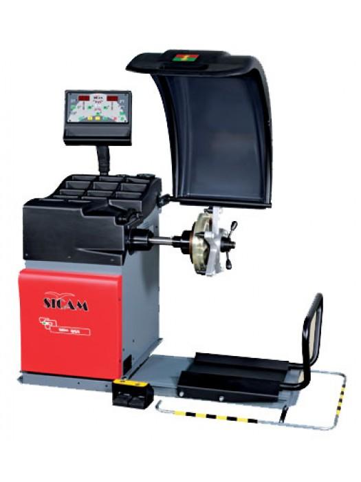 SICAM SBM 855 Dijital Ağır Vasıta (Kamyon,Otobüs) Sabit Balans Makinesi